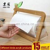 Customized rotating pmma plexiglass acrylic tissue napkin holder