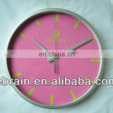 beautiful design modern plastic wall clock
