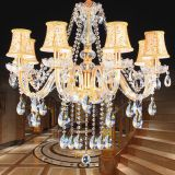 Modern Crystal Chandeliers Home Lighting Decoration Luxury Candle Chandelier Pendants Living Room Indoor Lamp