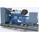 Genuine 62.5kva natural gas generator set with Weichai 50kw gas generator engine price