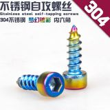 Spirit Beast motorcycle modified 304 stainless steel self-tapping screw  hexagon socket head cap screws M5
