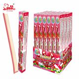 Bubble Gum Filled Sour Powder Straw Candy