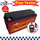 Csbattery 12V250ah Solar Gel Battery for Industrial/VRLA/Forklift/Maintenance-Free/Lighting/Ali