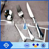 Stainless Steel Cutlery Set in Mirror, Sand or Gold Polish