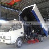 Hot Sale Good performance Dongfeng price of road sweeper truck,mini street sweeping machine sale