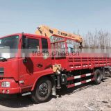 S14SK4Q XCMG Brand 14tons Telescopic Boom Truck Mounted Crane