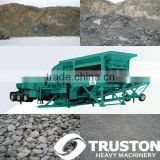 Mobile Rock Crusher Plant, with high quality used in stone and ore crushing,and construction material break