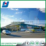 Construction industrial steel structure sports hall