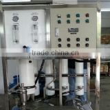 Commercial seawater desalination plant water treatment for irrigation