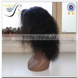Wholesale new arrival 100% virgin human hair short afro kinky lace human hair wigs