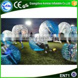 High quality Half blue TPU giant inflatable clear ball,bubble ball for sale                                                                                                         Supplier's Choice