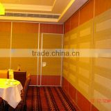 china manufacturer aluminium high quality folding wall partition for hotel