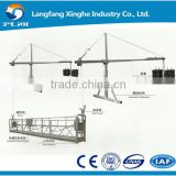 aluminum / hot galvanized elevation platform for construction / building cleaning lift gondola / new wire rope cradle