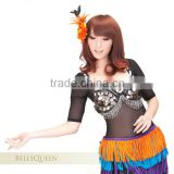 New style sexy belly dancing tops,BellyQueen