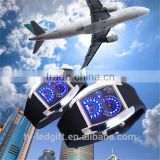 Direct selling fashionable high-grade dashboard watches aviation LED electronic watches                                                                         Quality Choice