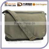 Mens Canvas Laptop Book School Shoulder Strap Messager Bag