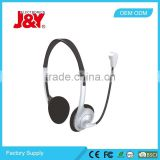 JY-M311 Basic headset with microphone for PC / Lightweigth headphones / cheappest headphones