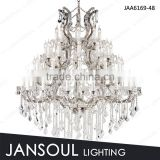 Maria theresa 48 lights huge crystal chandelier for sale