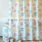 Hot Sales Printed 10PC Coordinate Bathroom Accessory Set/shower curtain/bath mats set/ceramic bath accessories set