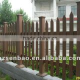 Outdoor green material WPC Composite Fence