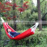 Garden Outdoor Hammock Parachute Fabric Rope Swing Hanging Swing fit one person