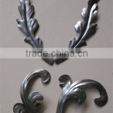 decorative wrought iron stamping leaves