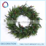 Professional Factory Supply wholesale christmas wreath decorations