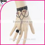 new popular bracelets Retro powder crystal pendant fashion lace bracelets new models bracelets