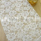 fabric french net lace tulle lace supplier fancy and elegant lace for bridal dress garment