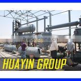 Continious Automatic used tyre recycling plant to fuel oil                                                                         Quality Choice