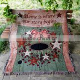 New Blanket Soft Plush Home tapestry throw Decor carpet Tassels Thick design painting colorful friendship fresh high quality