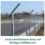 Galvanized low carbon wire material-pvc coated chain link fence type sports fence                                                                                                         Supplier's Choice