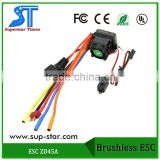 Original ZD Racing Spare Part Brushless 45A ESC for ZD Racing 1/10 RC Brushless Car