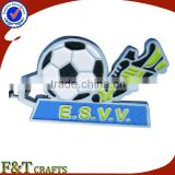 Stamping iron cheapest club football keychains