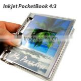 Festival Gift:Mini-color portable inkjet DIY pocket photo memory album 4:3 (self-adhesive sheets,PVC cover; DIY Album&Calendar)