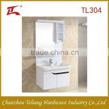 North American wholesale used white bath vanity cabinet with drawer