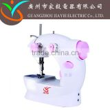 jiayie JYSM-202 t-shirt button mini sewing machine with foot control machine with spare parts