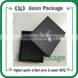 2015 customized jewelry paper gift boxes with silver logo printed                                                                         Quality Choice