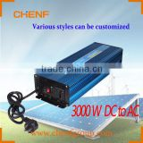 CHENF 3kw Pure sine wave type car power High frequency inverter City Electricity Complementary Can be customized