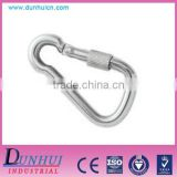 Factory Direct Sale Spring Hook With Safety Nut