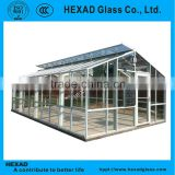Hexad outdoor Greenhouse Glass Panels