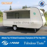 2015HOT SALES BEST QUALITY fiber glass food truck motorcycle food truck crepe truck