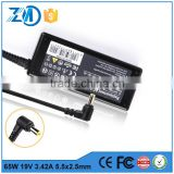 Ac dc adapter power supply laptop power adapter 100 240v 50 60hz laptop ac adapter for asus