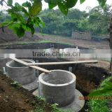 China PUXIN Hydraulic Pressure High Reliable Family Size Biogas Anaerobic Digester Design for Family Waste treatment