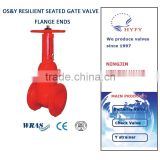 4 inch water cast iron sluice gate valve price