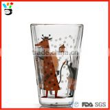 Manufacturers Custom Creative Borosilicate Glassware 300ml - 400ml Size Double Wall Pint Glass