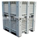 Mesh Style Heavy Duty Plastic Pallet Box for sell