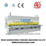 China supplier QC11Y-12X3200 hydraulic sheet metal plate guillotine hydraulic shearing machine for sale