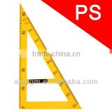 50cm Plastic with Removable Handle Triangular Teaching Ruler/plastic triangle ruler