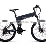 Big power hummer battery powered folding mountain e bike ( HJ-M10 )